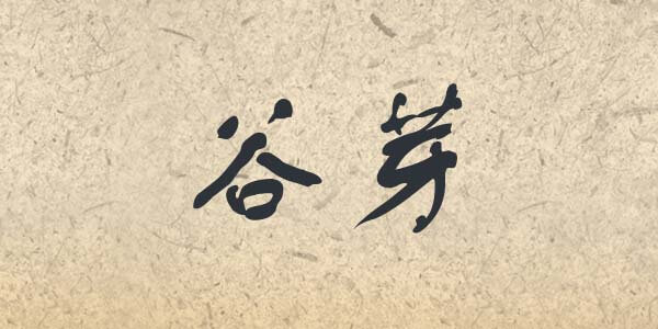 Gu Ya written in Chinese